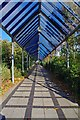 O0827 : Covered walkway from Belgard Square East to Belgard Road, Tallaght, Dublin by P L Chadwick
