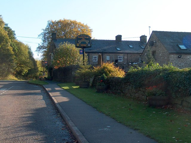 """Yorkshire Bridge Inn"" on Ashopton Road"