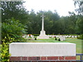SJ9815 : Cannock Chase War Cemetery by Colin Smith