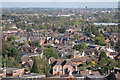 SP3065 : View over Warwick to Leamington by Robin Stott