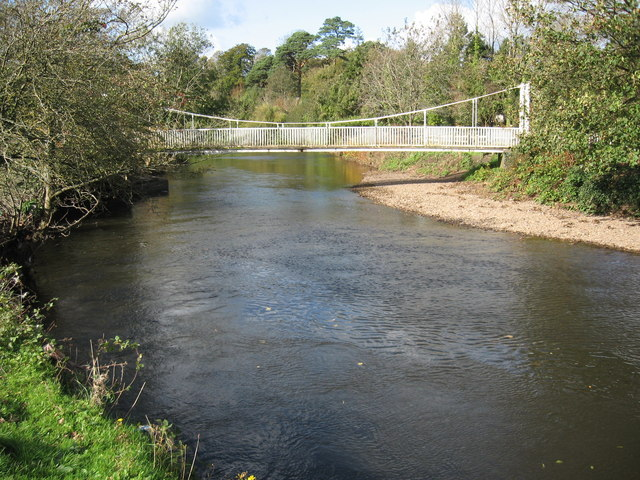Foot bridge, Afon Ogwr