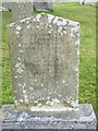 HY6739 : 'Died at Galilee' - Grave at Lady Kirk, Sanday, Orkney by Becky Williamson