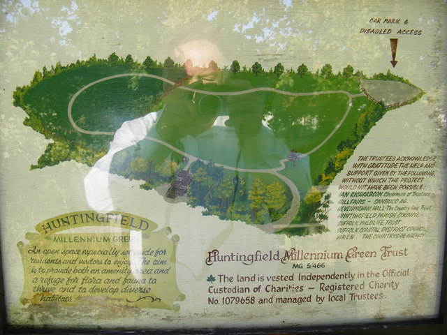 Huntingfield Millennium Green Map