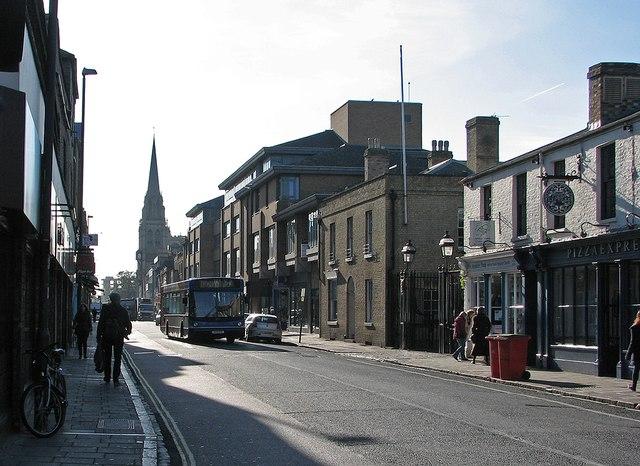 Regent Street in October
