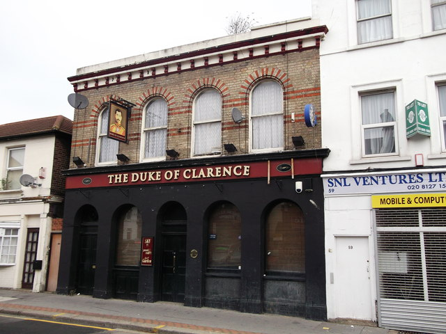 Duke of Clarence, Public house, South Norwood