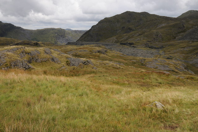 View to Rhosydd Quarry