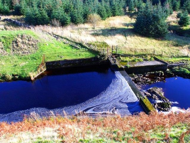 Endrick Water, dam
