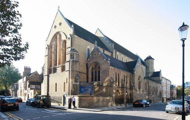 St Mary, Cadogan Street, London SW3