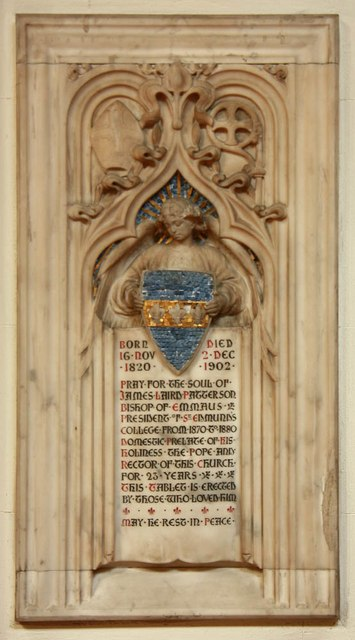 St Mary, Cadogan Street, London SW3 - Wall monument