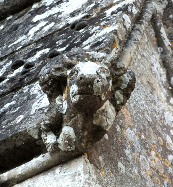Church of St John the Baptist- corbel