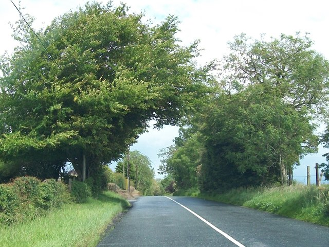The R154 north-west of Patrickstown