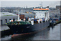 NJ9505 : MV Helliar at Blaikie's Quay, Aberdeen by Mike Pennington