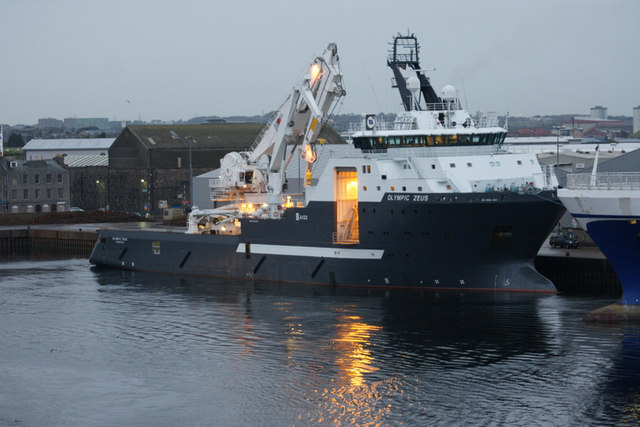Olympic Zeus at Clipper Quay, Aberdeen