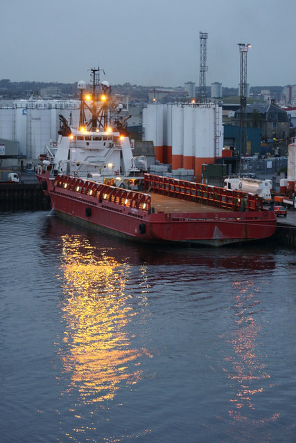 Ocean Mainport at Pocra Quay, Aberdeen