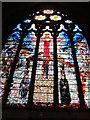 TQ3181 : St. Etheldreda's Church, Ely Place, EC1 - west window by Mike Quinn
