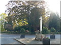 TQ0568 : Laleham War Memorial by Eirian Evans