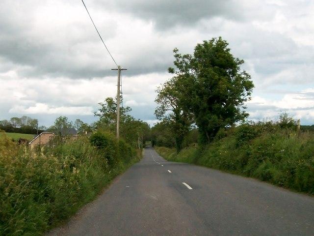 The R164 south of Kilfannan, Co Meath