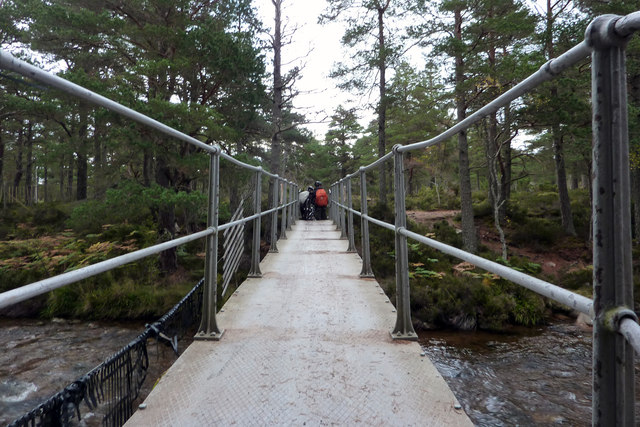 Cairngorm Club Footbridge, Rothiemurchus