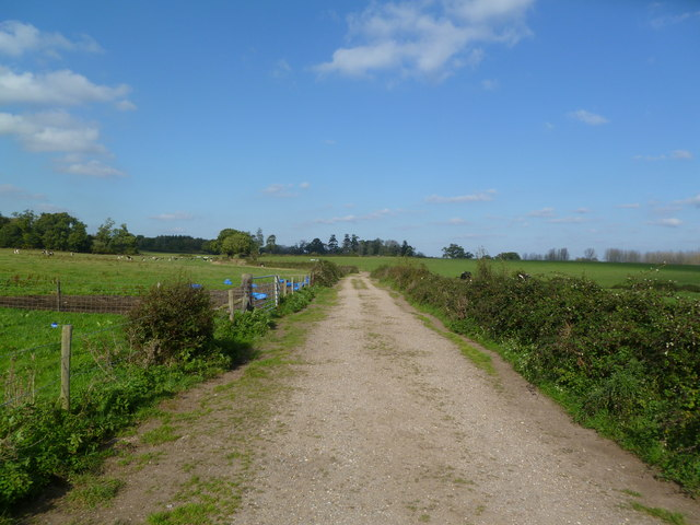 Harbridge, long-distance footpath