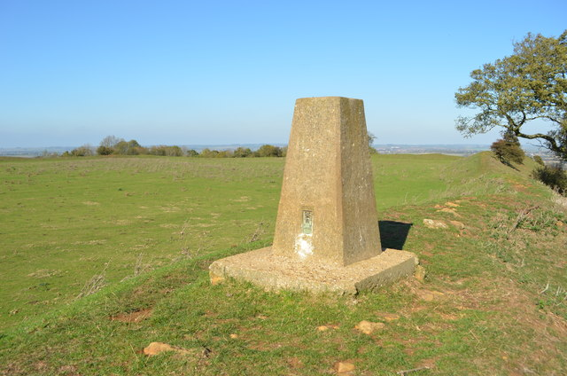 Burrough Hill Trig Point