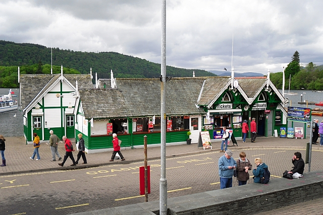 Coffee shop and ticket office, Bowness pier
