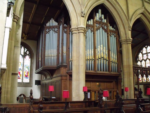 The Organ, St James' Church, Louth