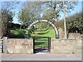SJ9753 : Entrance to St. Edwards Lawn Cemetery by Ian Calderwood