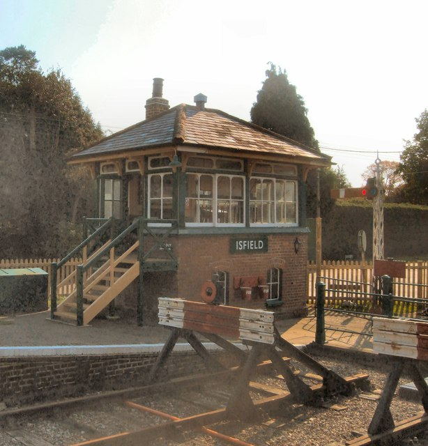 Isfield Station Signal box
