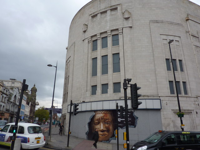 The former cinema called the Forum