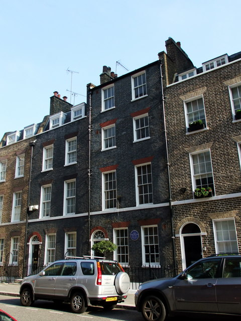 16 Stafford Place, London where Lord Leslie Hore-Belisha lived