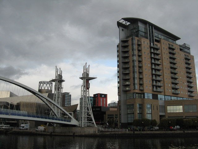 A modern cityscape