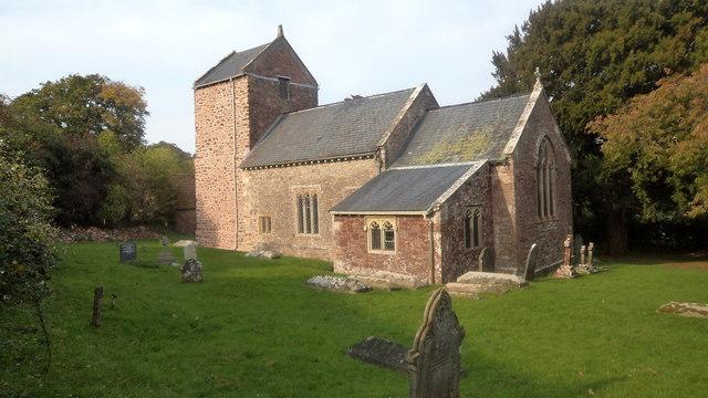 St Mary's the Virgin church, Holford
