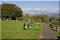 SO5275 : Ludlow Cemetery by Ian Capper