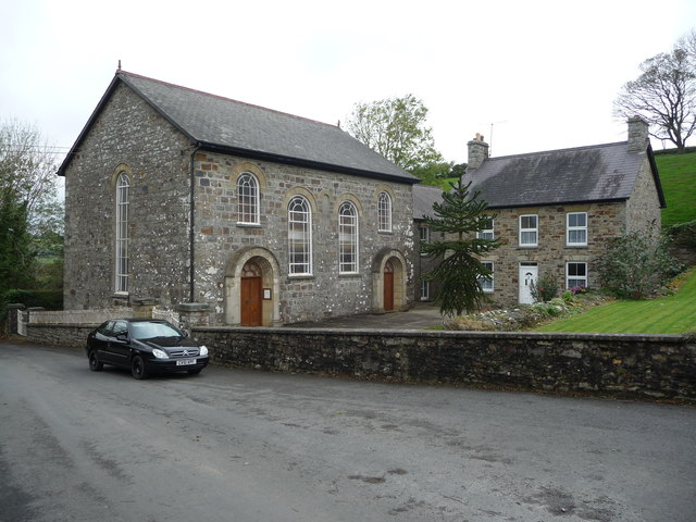 Penmorfa chapel and manse