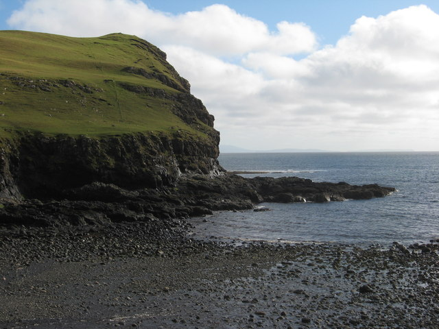 Cliffs below Cnoc Fuar