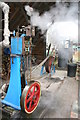 SU5009 : Bursledon Brickworks Industrial Museum - steam engine by Chris Allen