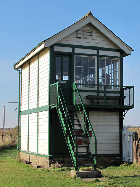 Mangapps (formerly Haddiscoe) Junction Signal Box