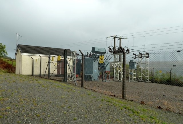 Electricity Substation, Lochaline