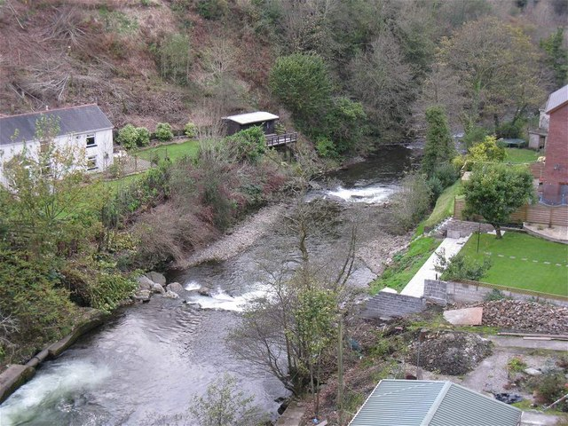 River Afan seen from viaduct