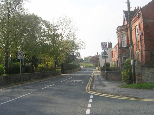 Kirkgate - viewed from Croftway