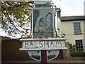 TL5850 : Balsham Village Sign by Finlay Cox