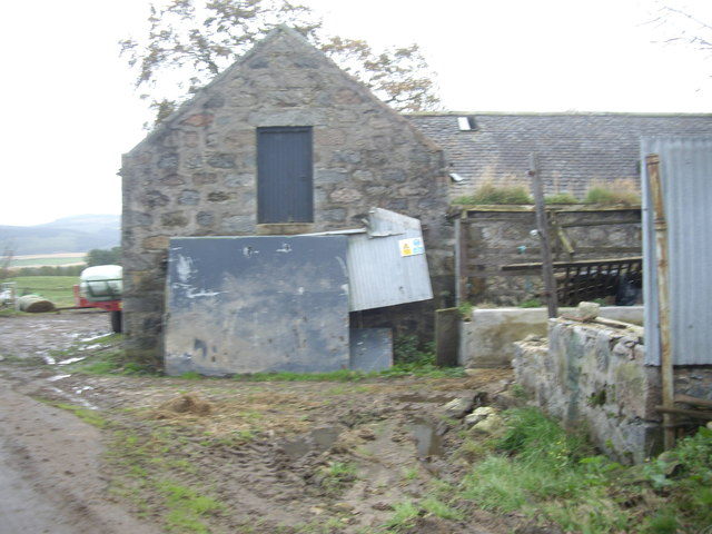 A steading at Mains of Blairydrine