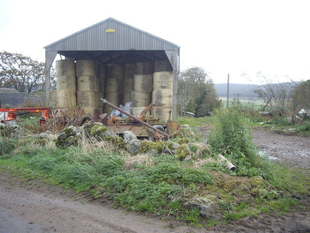 A barn at Mains of Blairydrine