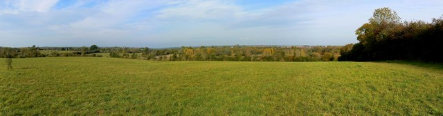 View north from Mouldon Hill Country Park, Swindon