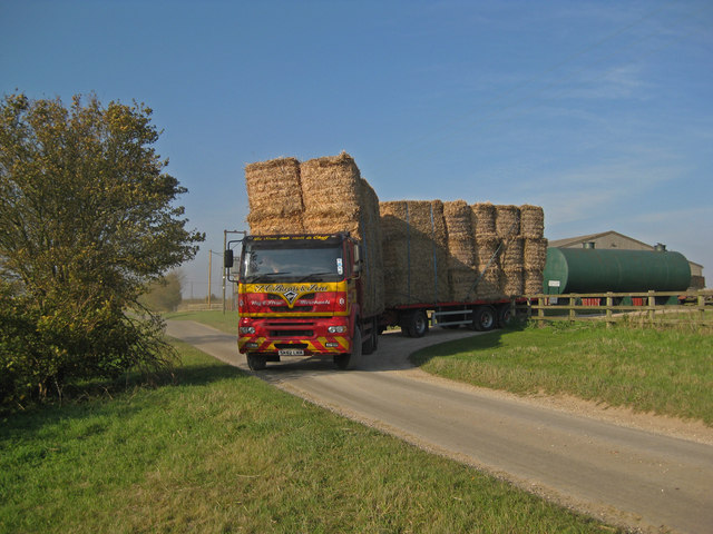 Transporting Miscanthus Bales