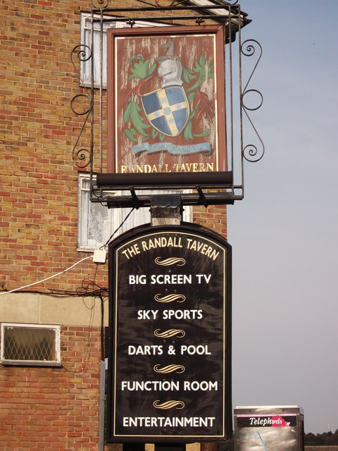 Randall Tavern, Pub Sign (1), New Addington