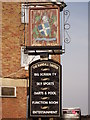 TQ3763 : Randall Tavern, Pub Sign (1), New Addington by David Anstiss