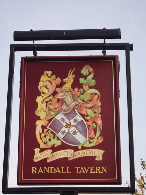 Randall Tavern, Pub Sign (2), New Addington
