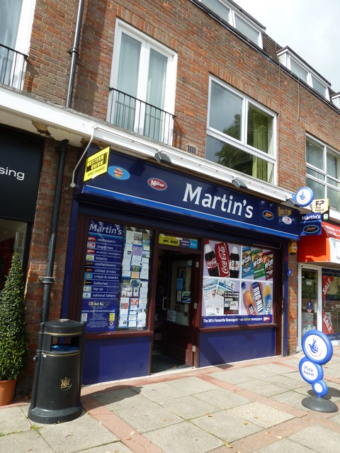 Newsagents in Penn Road