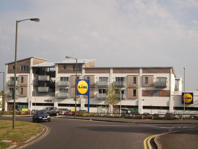 Lidl Supermarket, New Addington